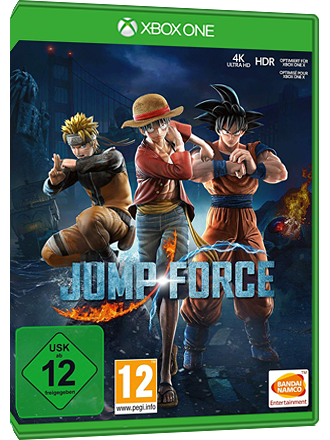 Jump Force - Xbox One-nedladdningskod Screenshot