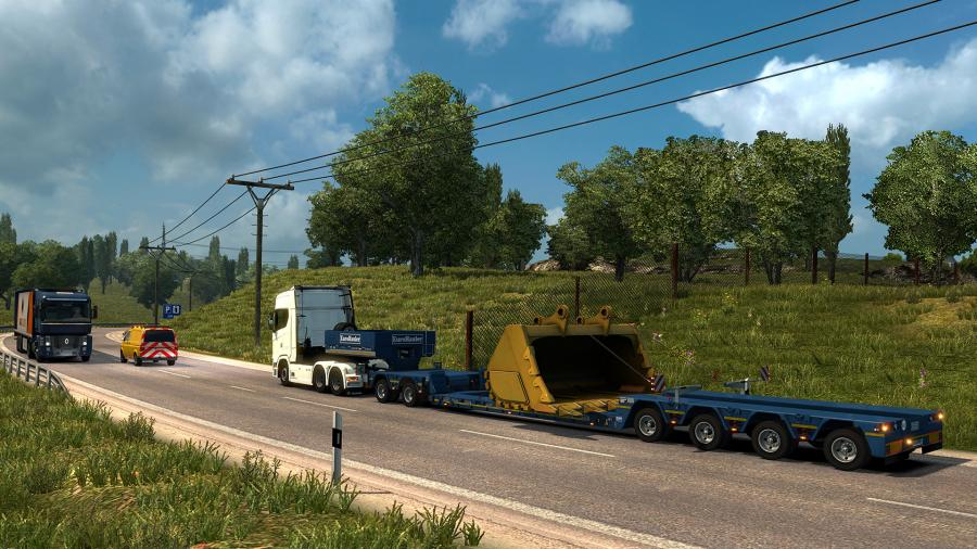 Euro Truck Simulator 2 - Special Transport (DLC) Screenshot 9