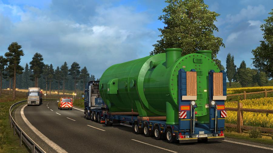 Euro Truck Simulator 2 - Special Transport (DLC) Screenshot 4