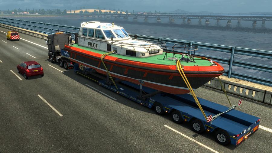Euro Truck Simulator 2 - Special Transport (DLC) Screenshot 2