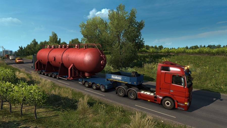 Euro Truck Simulator 2 - Special Transport (DLC) Screenshot 5
