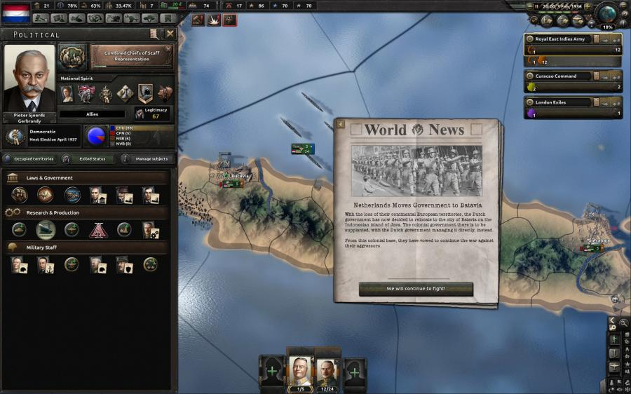 Hearts of Iron IV - Man the Guns (DLC) Screenshot 5