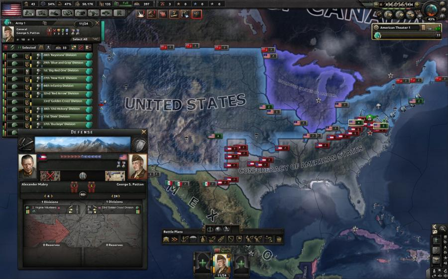 Hearts of Iron IV - Man the Guns (DLC) Screenshot 2