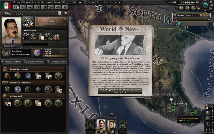 Hearts of Iron IV - Man the Guns (DLC) Screenshot 7
