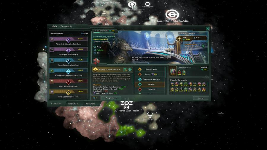 Stellaris - Nemesis (DLC) Screenshot 4
